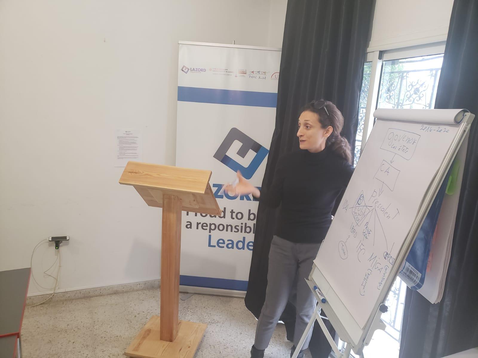 ورشة عمل لفائده فرق عمل الجمعيات الاعضاء في تونس